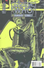 Doctor Who Classics Volume 2 #4 Retail Incentive Retro Variant (2008) IDW Publishing comic book